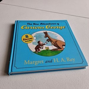 The new adventures of Curious George book